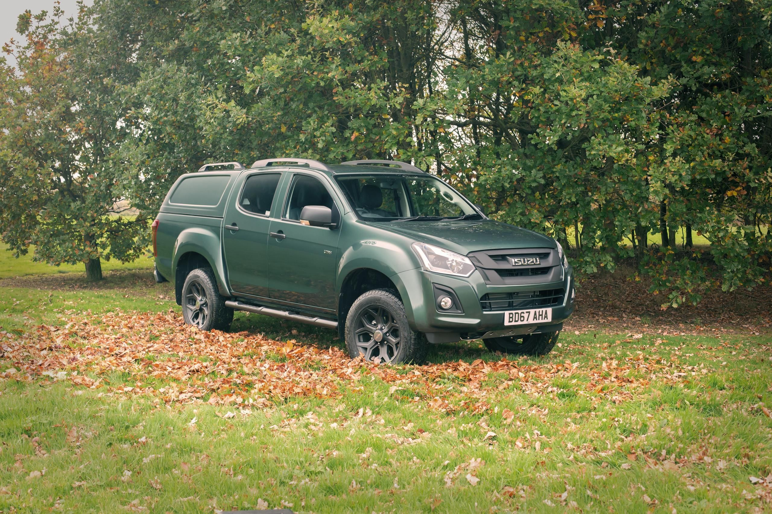 ISUZU ARRIVES AT THE GREAT BRITISH SHOOTING SHOW 2018